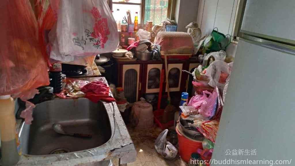 獨居老人家園整理