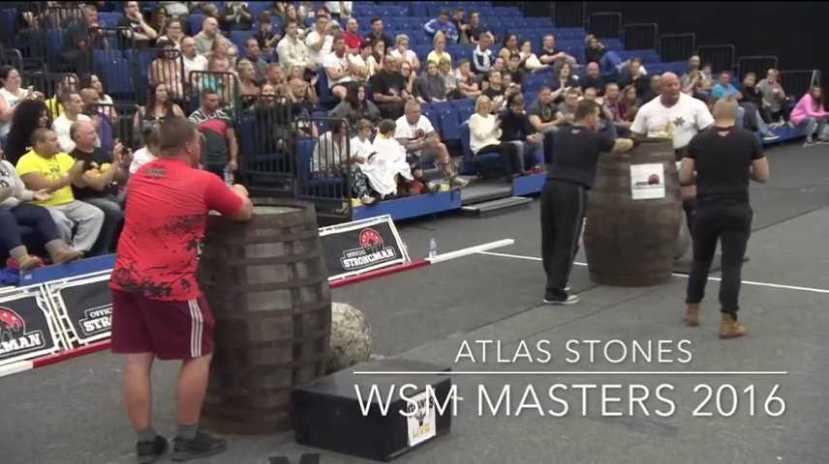 Strongman - Nick Best Worlds Strongest Man Masters 2016 Winner